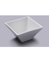 Small Deep Square Flared Serving Bowl