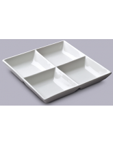 Divided Square Party Serving Dish