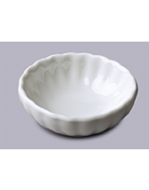 Mini Round Crinkle Serving Dish