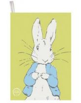 Peter Rabbit Contemporary Tea Towel - Lineart Peter