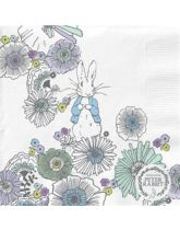 Peter Rabbit Contemporary Printed Napkins - Meadow