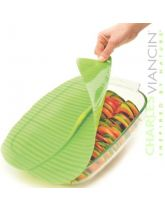 Silicone Sealing Lid Banana Leaf Oblong by Charles Viancin