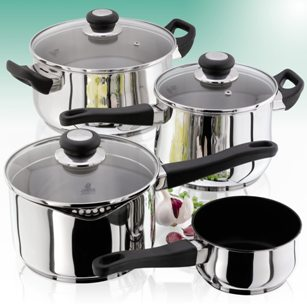 Judge Vista Saucepans